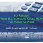 [WEBINAR] Tax Reform: What D.C.'s Actions Could Mean for Public Agencies