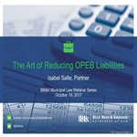 [WEBINAR] The Art of Reducing OPEB Liabilities