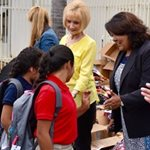 Hundreds of Elementary School Students in Santa Ana Receive Supply-Filled Backpacks