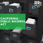 California Public Records Act Update