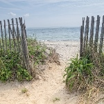 Property Owner to Maintain Public Beach Access Over Coastal Property
