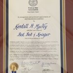 Partner Kendall H. MacVey and BB&K Honored by Federal Bar Association, Inland Empire Chapter